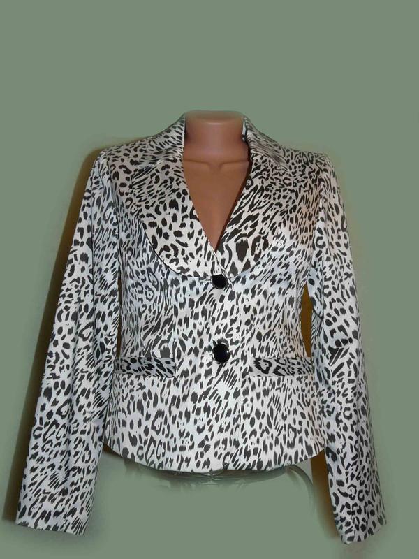 Пиджак классика chic в леопардовый принт, швеция