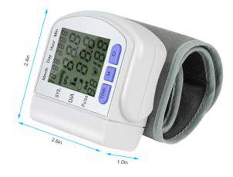 Тонометр автоматический UKC,тонометр на запястье, прибор для и... - Фото 7