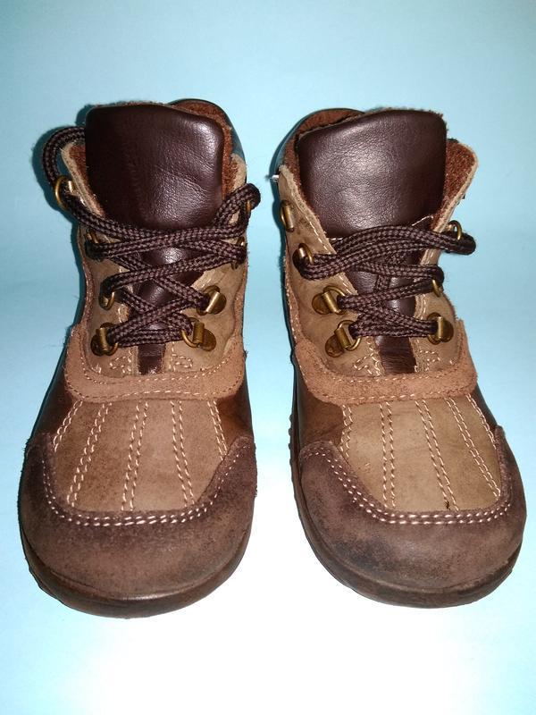 Ботинки демисезонные утеплённые m kids 17 см стелька - Фото 3