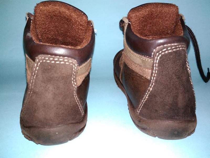 Ботинки демисезонные утеплённые m kids 17 см стелька - Фото 4