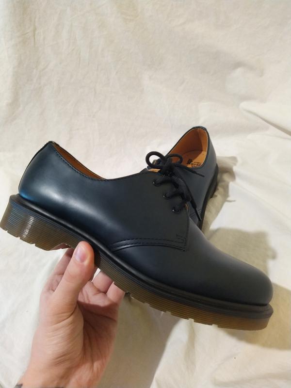 Ботинки туфли dr martens оригинал доктор мартинс кожа новые ра... - Фото 2