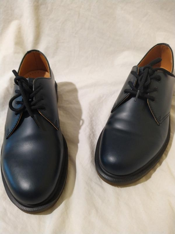 Ботинки туфли dr martens оригинал доктор мартинс кожа новые ра... - Фото 4