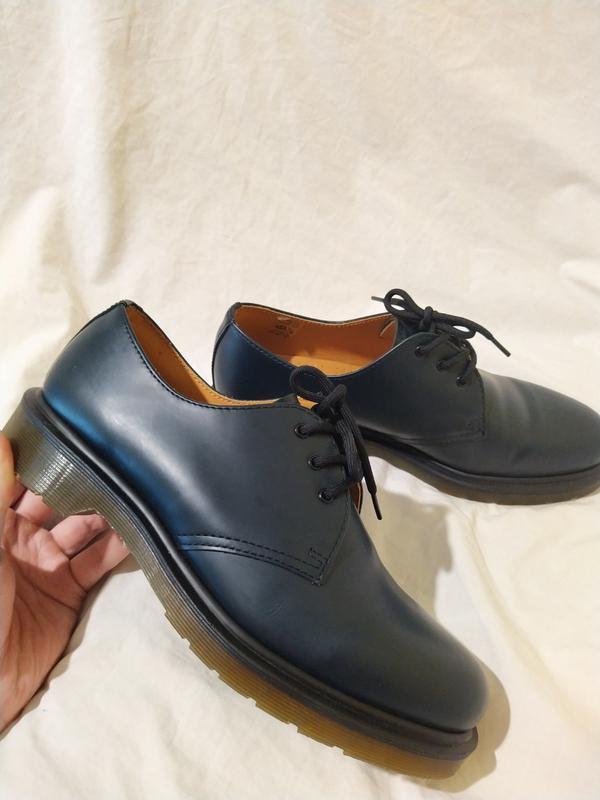 Ботинки туфли dr martens оригинал доктор мартинс кожа новые ра...