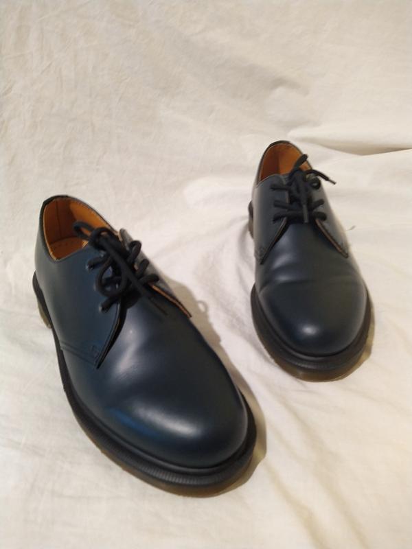 Ботинки туфли dr martens оригинал доктор мартинс кожа новые ра... - Фото 3