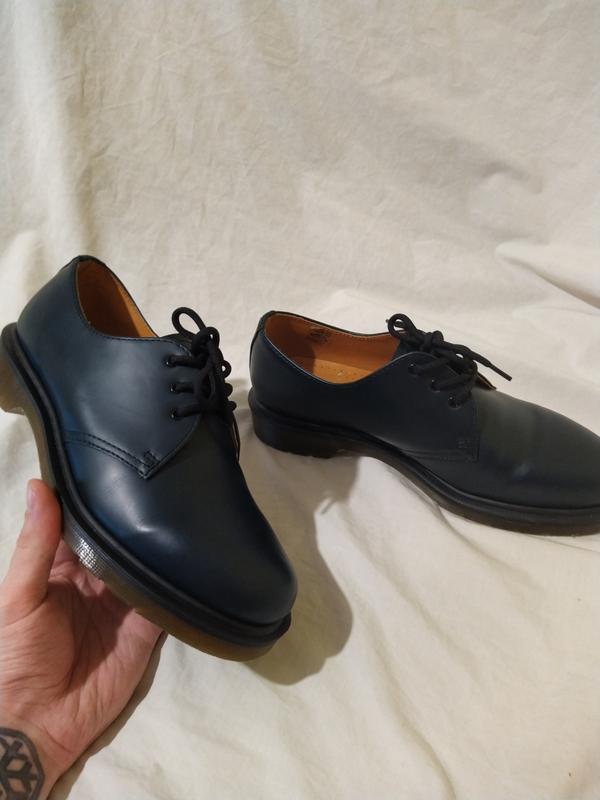 Ботинки туфли dr martens оригинал доктор мартинс кожа новые ра... - Фото 5