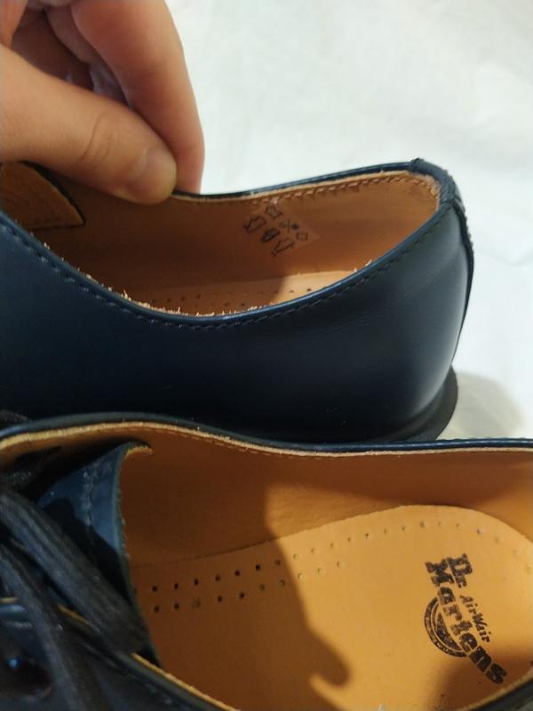Ботинки туфли dr martens оригинал доктор мартинс кожа новые ра... - Фото 7