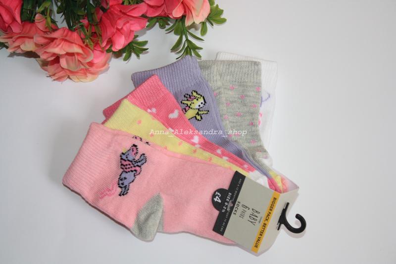 Набор носков носочков  george - Фото 2