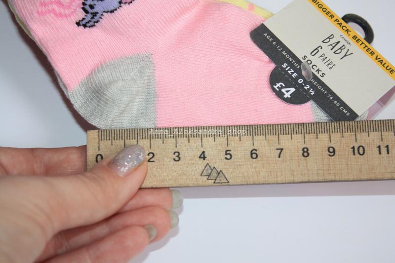 Набор носков носочков  george - Фото 4