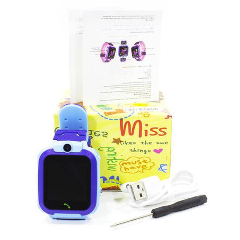 Смарт-часы детские Smart Baby Watch Q12 с камерой GPS ответ на... - Фото 6