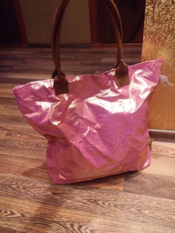 Удобная сумка,большая!можно на пляж!