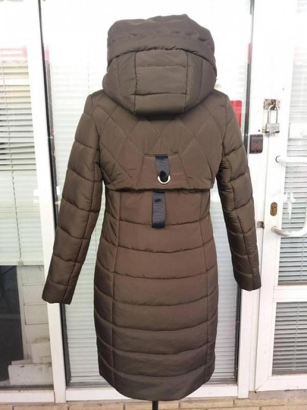 Женское зимнее пальто -пуховик