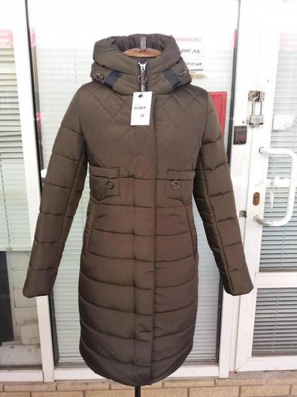 Женское зимнее пальто -пуховик - Фото 2