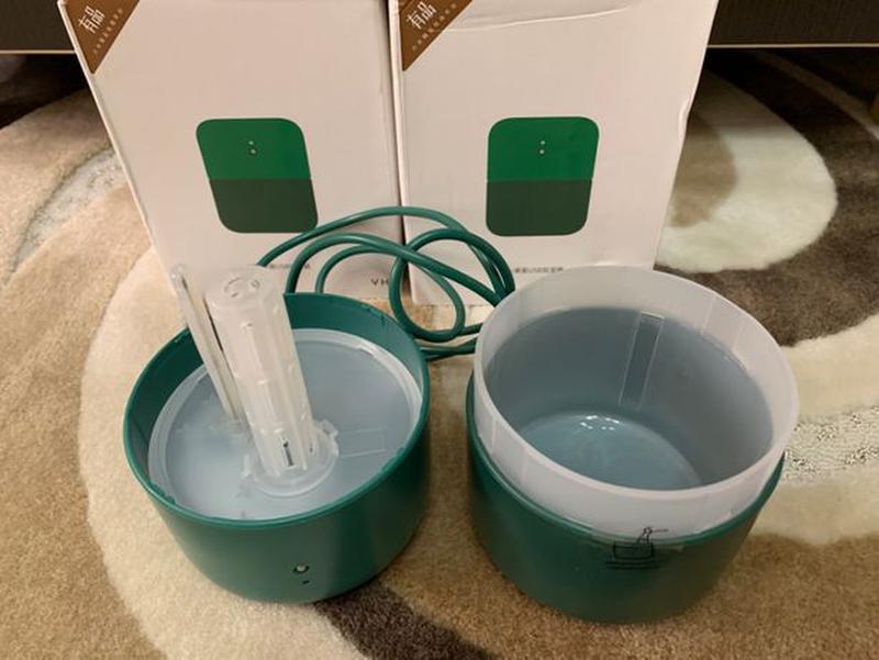 Портативный USB-увлажнитель воздуха Xiaomi VH H01 Green! - Фото 2