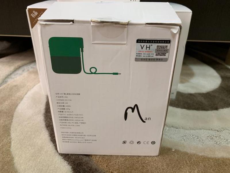 Портативный USB-увлажнитель воздуха Xiaomi VH H01 Green! - Фото 4