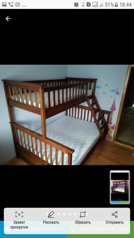 Кровать трёхместная в наличии. - Фото 8
