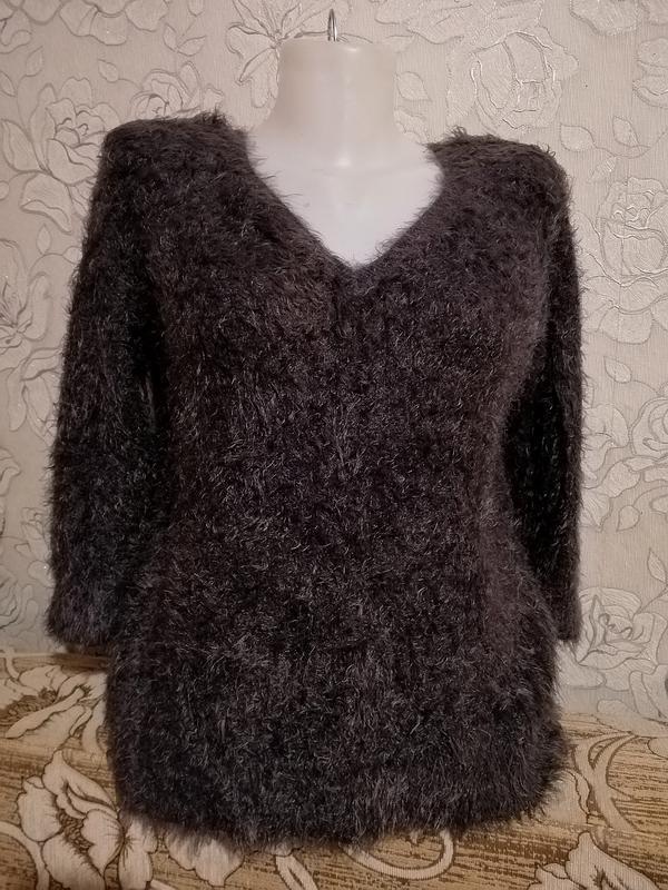 Теплая кофта свитер травка