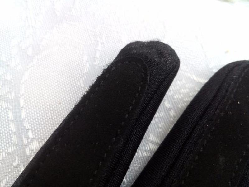 Перчатки трикотажные с меховым манжетом весенние - Фото 5