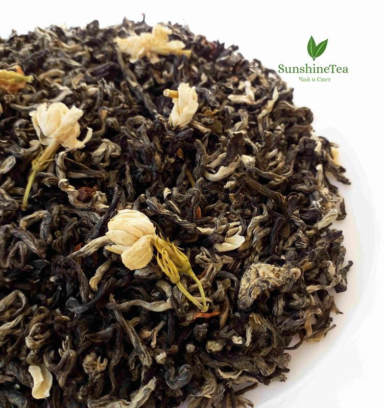 Зелёный чай с жасмином Моли Пяо Сюэ - Фото 3