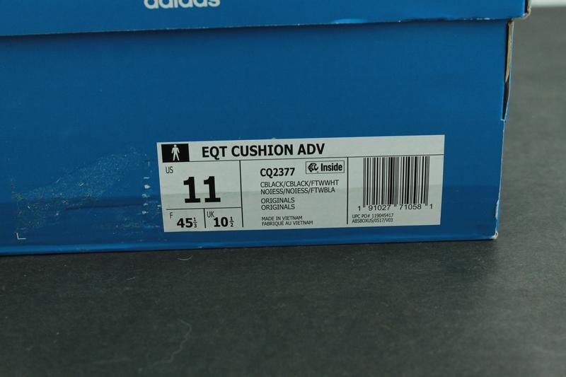 Оригинальные кроссовки adidas eqt cushion adv cq2377 - Фото 8