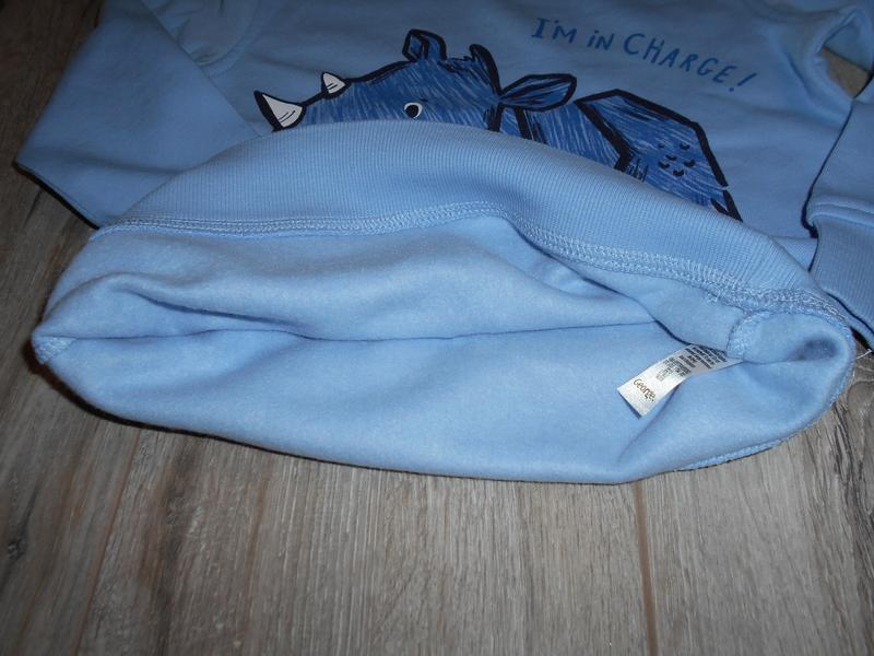 Свитшот, кофта с начесом george разм. 4-5, 5-6 лет - Фото 5