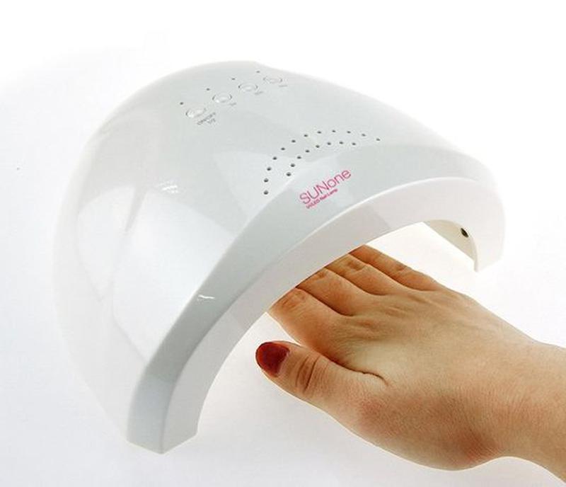 Лампа гибрид для сушки ногтей 48W LED сушка УФ-Геля Гель-лака ... - Фото 2