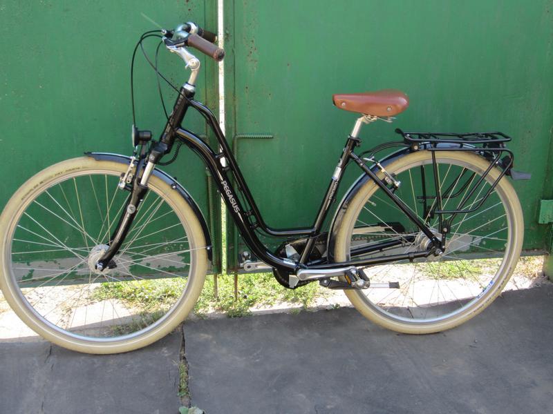 Велосипед Pegasus Premio NEXUS 8 Планетарка из Германии - Фото 5