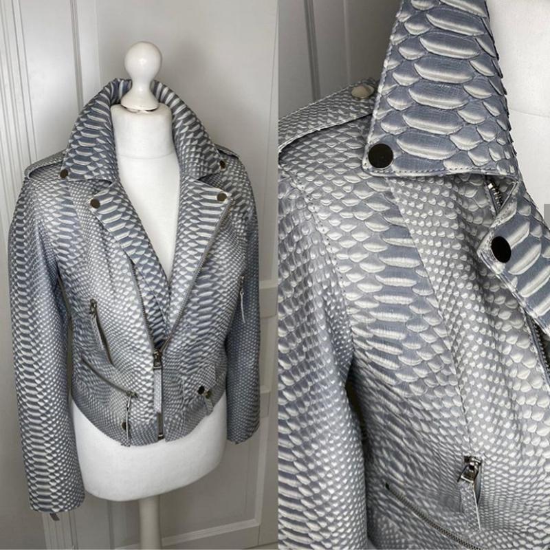 Крутая куртка косуха - Фото 3