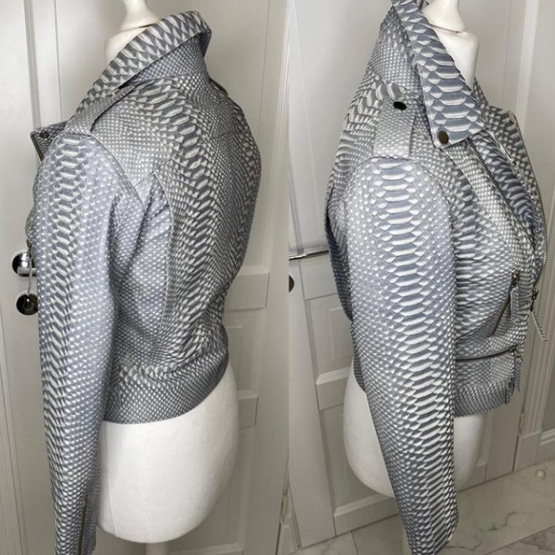 Крутая куртка косуха - Фото 4