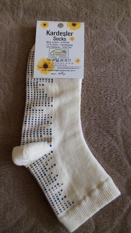 Носки женские kardesler мелкая точка турция супер дизайн и кач... - Фото 3