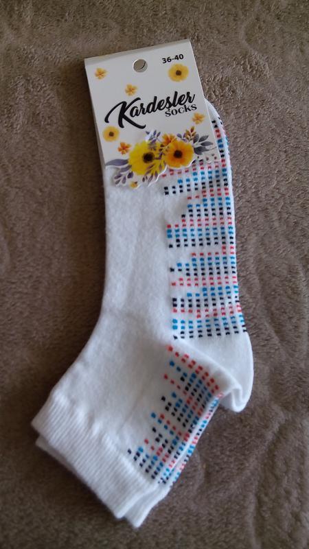 Носки женские kardesler мелкая точка турция супер дизайн и кач...