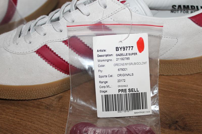 Кроссовки adidas originals gazelle super - Фото 9