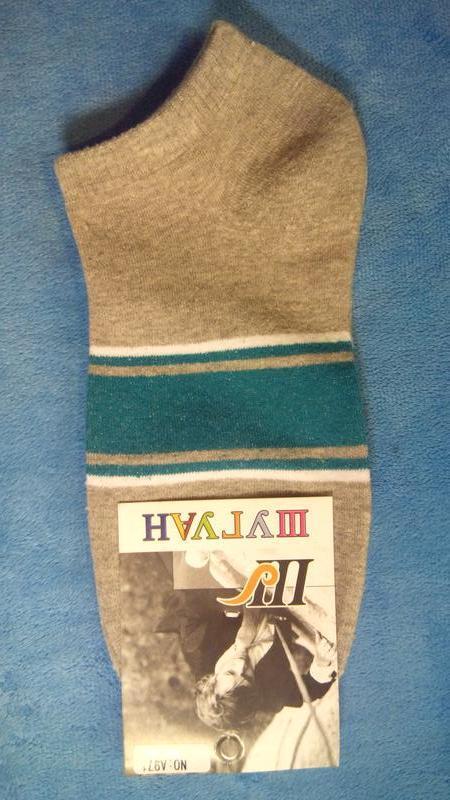 Носки мужские короткие шугуан полоски - Фото 2