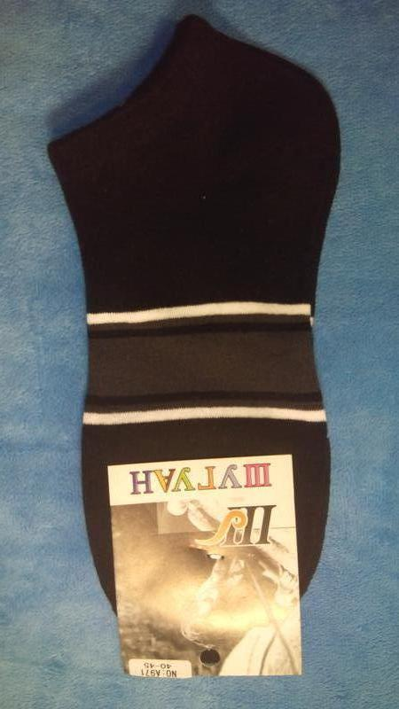 Носки мужские короткие шугуан полоски - Фото 3