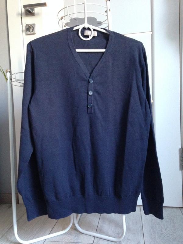 Легкий свитер джемпер пуловер мужской