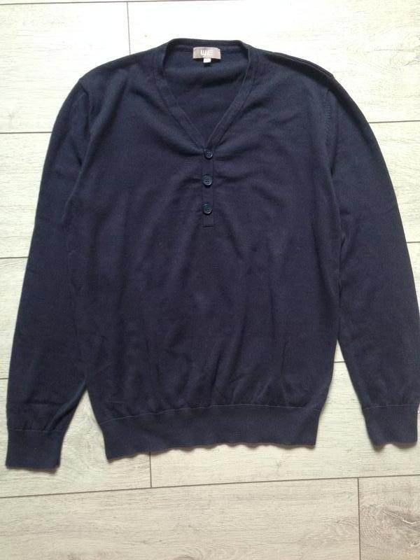 Легкий свитер джемпер пуловер мужской - Фото 4