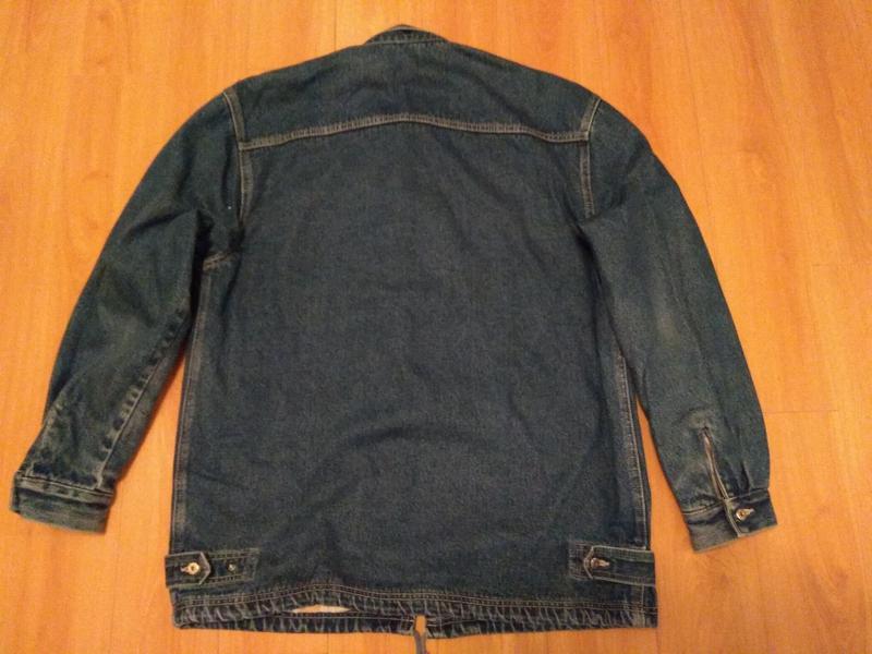 Мужская утепленная джинсовая куртка - Фото 2
