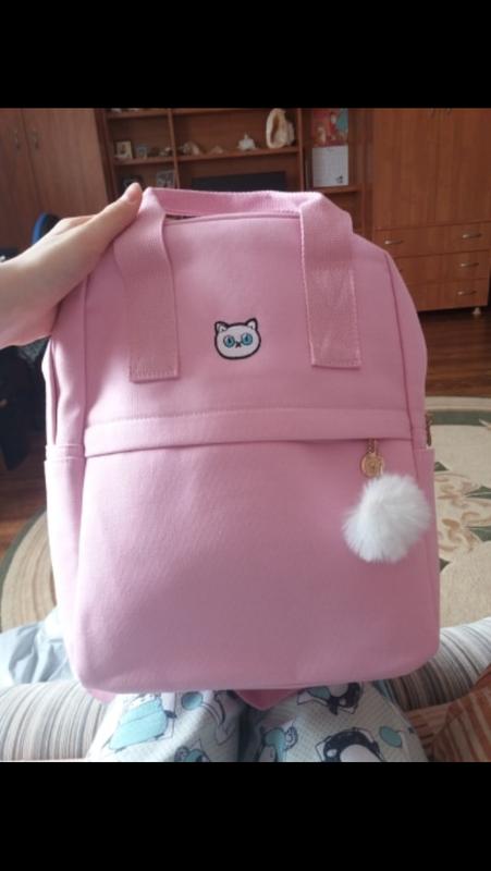 Рюкзак молодёжный тканевый - Фото 3