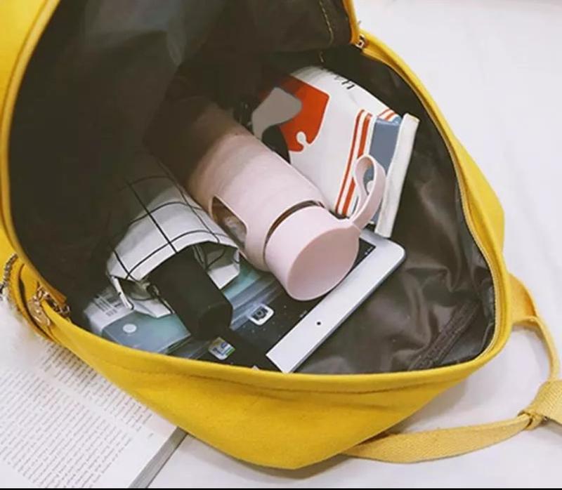 Яркий текстильный молодёжный тканевый рюкзак 🎒 - Фото 2