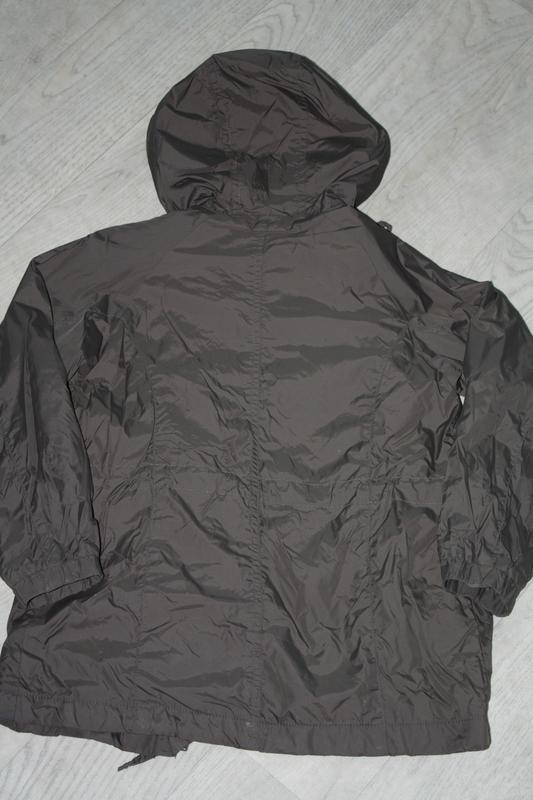 Курточка-ветровка длинная ф.zara kids р-116/122,для ребенка 5/... - Фото 3