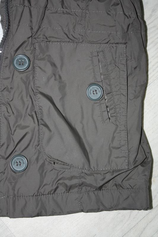 Курточка-ветровка длинная ф.zara kids р-116/122,для ребенка 5/... - Фото 4