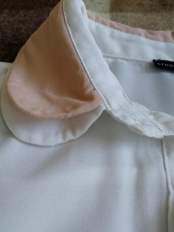 Нежная офисная блуза на лето atmospere - Фото 3