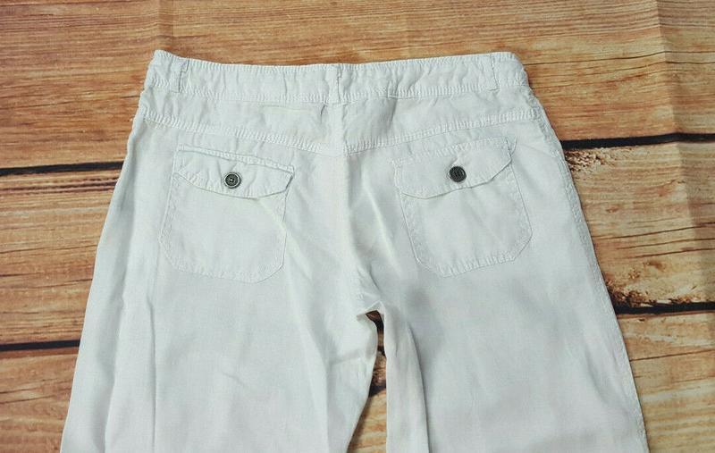 Льняные штаны denim&co - Фото 3