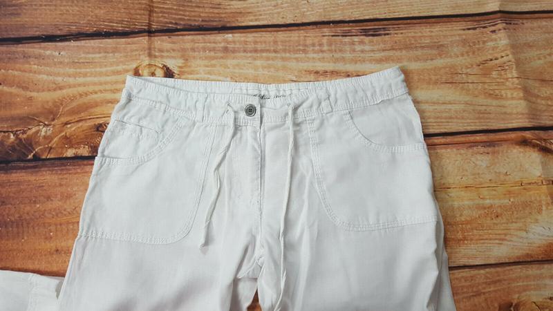 Льняные штаны denim&co - Фото 5