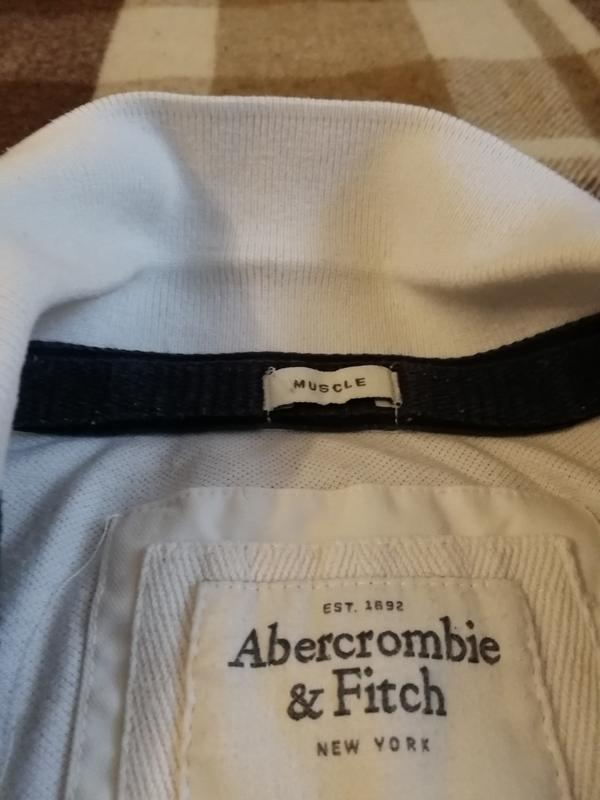 Поло abercrombie & fitch на широкие плечи - Фото 2
