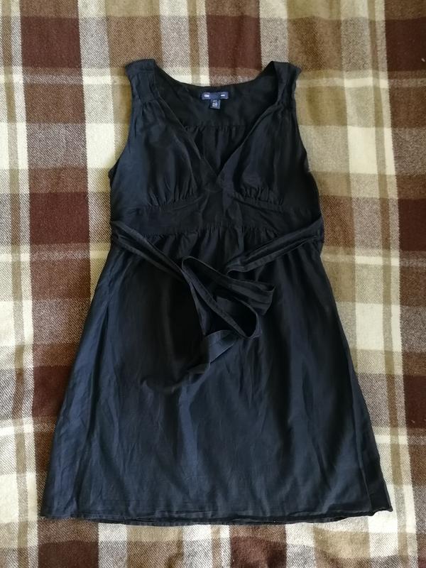Лёгкое платье gap, натуральный шёлк и коттон - Фото 3