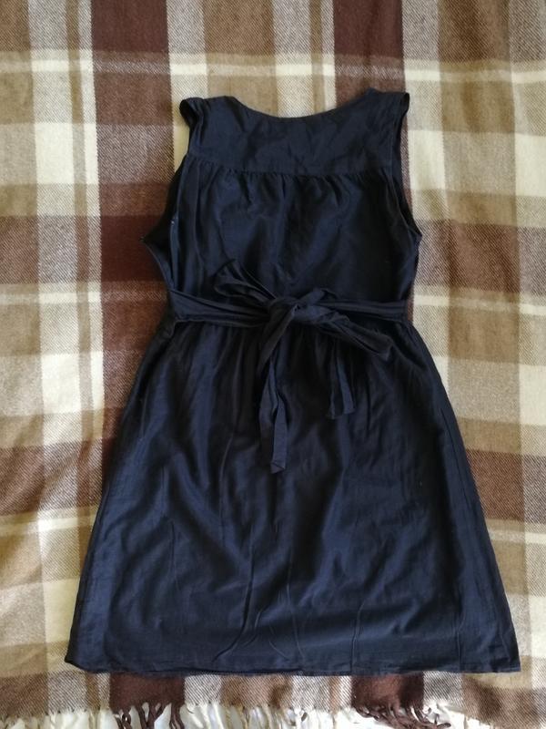 Лёгкое платье gap, натуральный шёлк и коттон - Фото 5