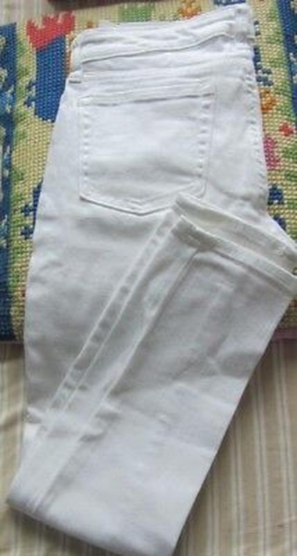 Белые плотные скини gap - Фото 2