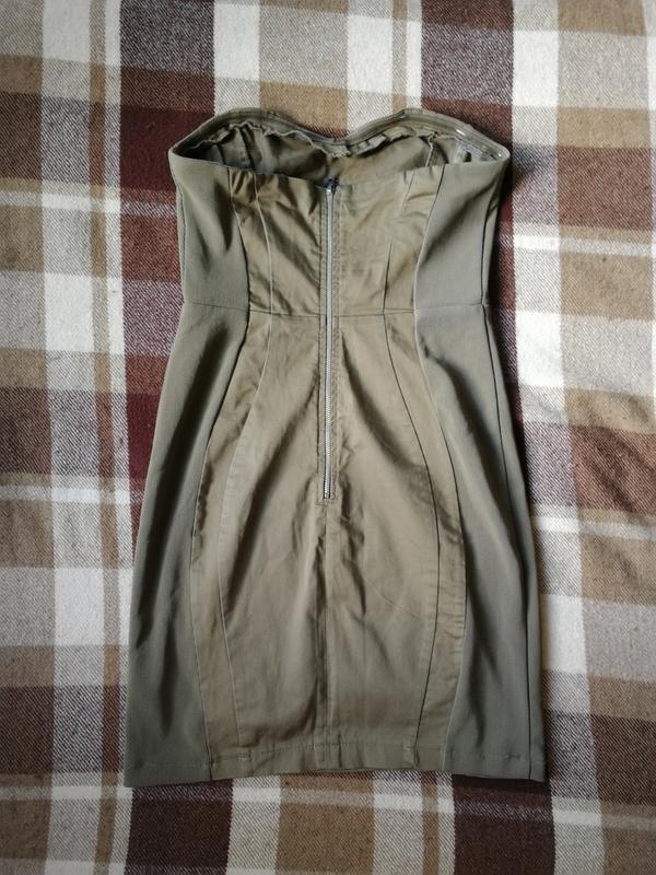 Платье милитари h&m