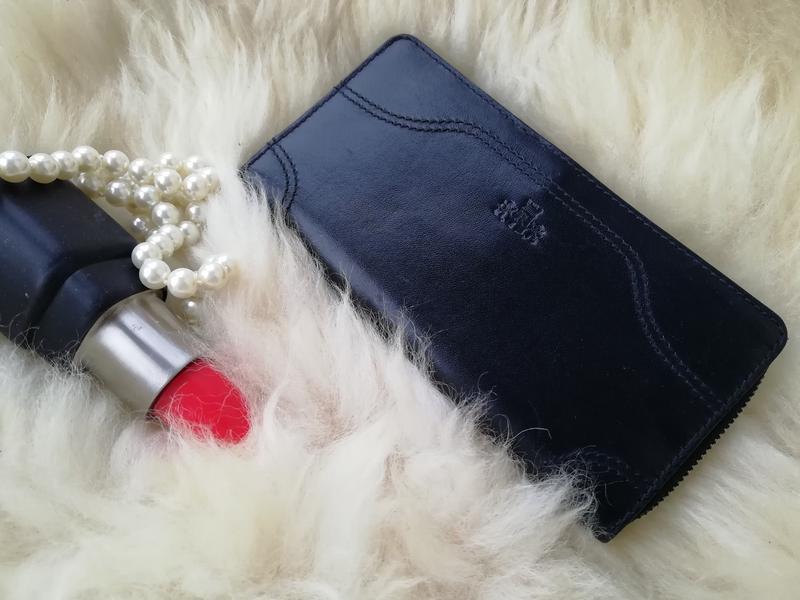Добротный дорогущий кожаный кошелек , натуральная кожа rowallan - Фото 2
