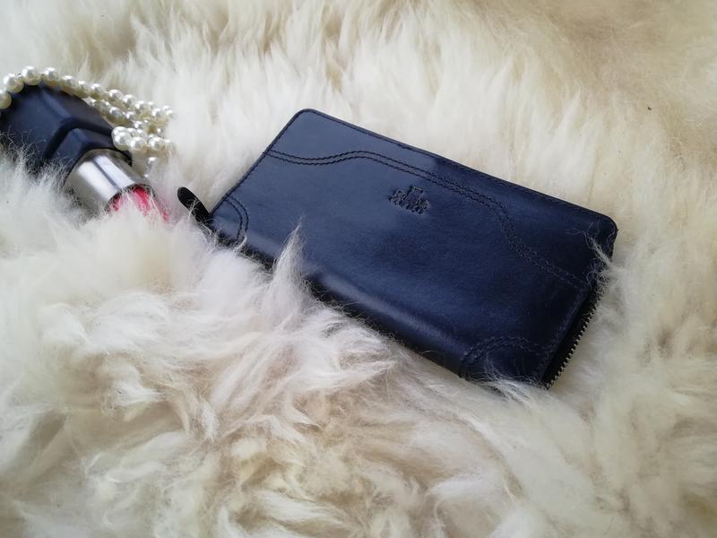 Добротный дорогущий кожаный кошелек , натуральная кожа rowallan - Фото 4